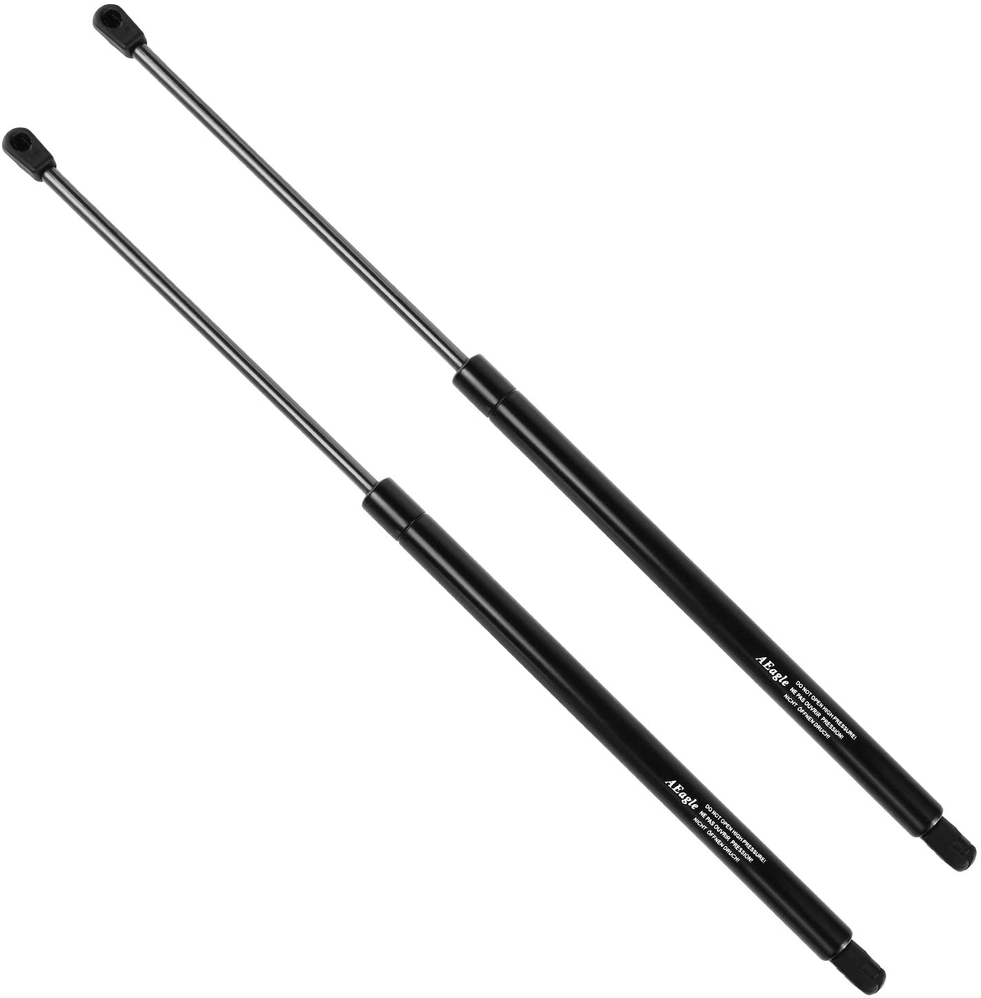 2 cciyu Qty 4161 Lift Supports Struts Gas Springs Shocks Replacement fit for 2000-2003 Nissan Maxima Front Hood