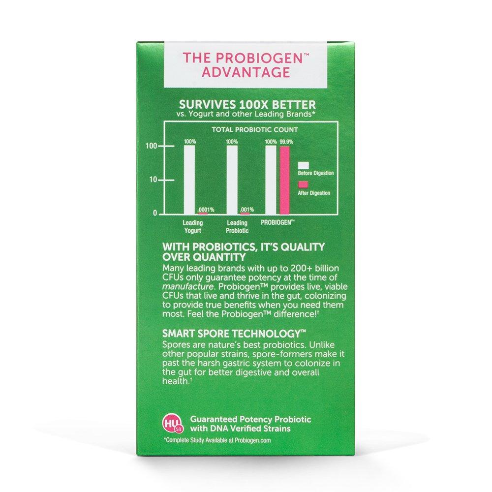 PROBIOGEN Allergy Defense Probiotic: Smart Spore Technology, DNA Verified, 100X Better Survivability, 120 count by Probiogen (Image #6)