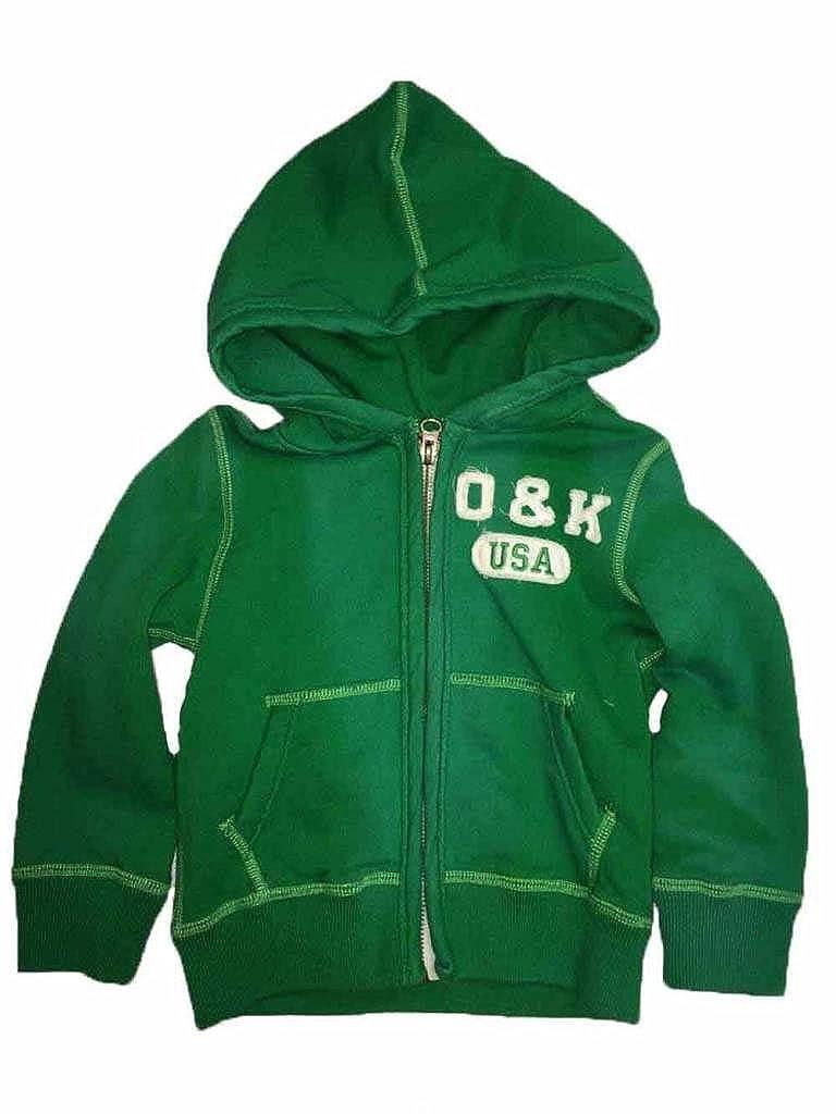 tie-dye Onekind Boys Zip Up Hoodie 2T Green