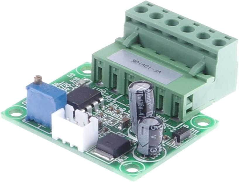KNACRO Voltage to Frequency Conversion Module 0-10V to 0-10KHz V//F Frequency Conversion Module.