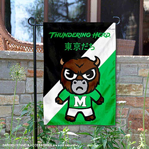 Sewing Concepts Marshall Thundering Herd Tokyodachi Garden Flag