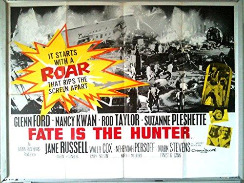 Cartel de cine: destino es el cazador 1964 (quad) Glenn Ford ...