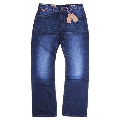 32898b14 Lee Cooper Dark Wash Bootcut Mens Jeans Carter (36W X 30L): Amazon.co.uk:  Clothing
