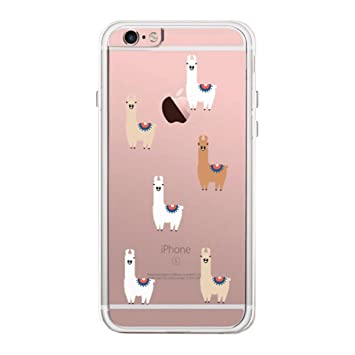 sports shoes 7391c a518d 365 Printing Llama Pattern iPhone 6 6S Plus Phone Case: Amazon.co.uk ...