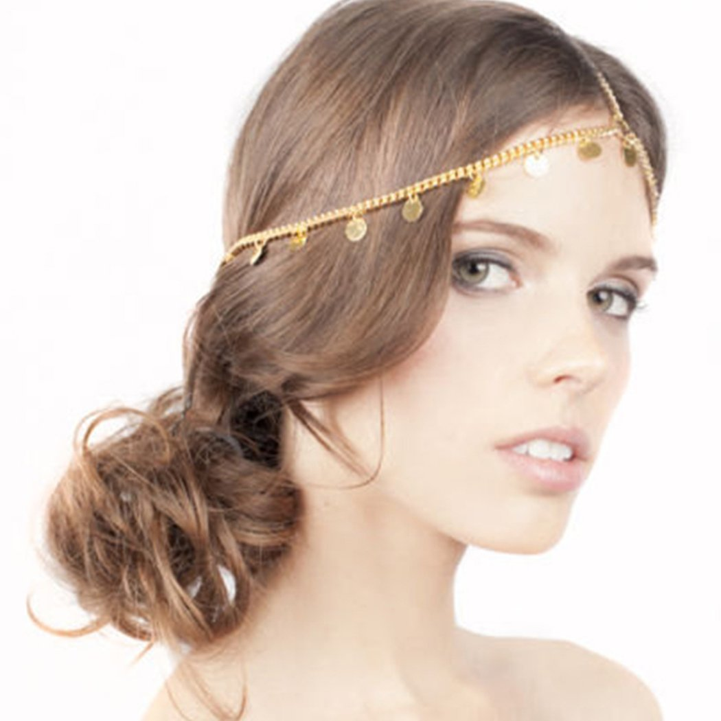 Amazon Com Simsly Headpiece Simple Headband With Squines