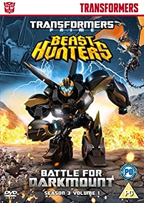 Transformers Prime Season 3 Beast Hunters - Battle for Darkmount [DVD]