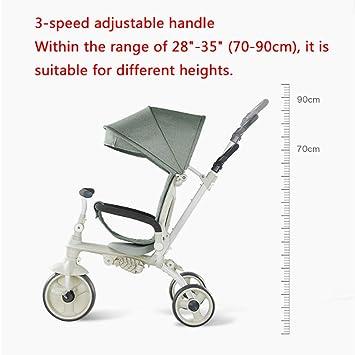 Amazon.com: YE ZI cochecito – carrito de triciclo de carrito ...