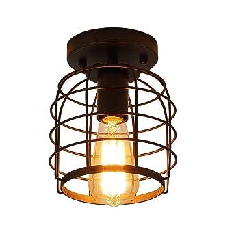 Escalera de techo lámpara_Americana personalidad país ...