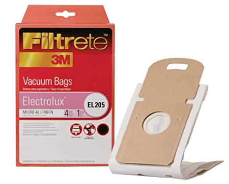 3M Filtrete Electrolux EL-205 Micro Allergen Vacuum Bag, Single Unit