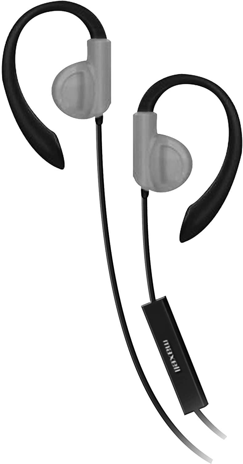 Maxell  Ergonomically-Shaped Ear Hook Stable And Comfortable Fitness Headphone the Bluetooth And wireless made headphones one of The best Headphones for The running it can be easily fit in every kind of ears