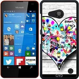 Funda para Microsoft Lumia 550 - Corazón by Paslier