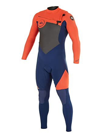 Quiksilver Syncro GBS 3/2mm - Chest Zip Wetsuit - Traje de ...