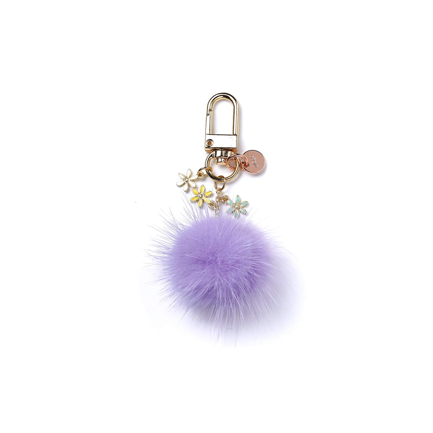 Charm for AirPods Car Tote Handbag Backpack Bag elago AirPods Keyring Violet Purse