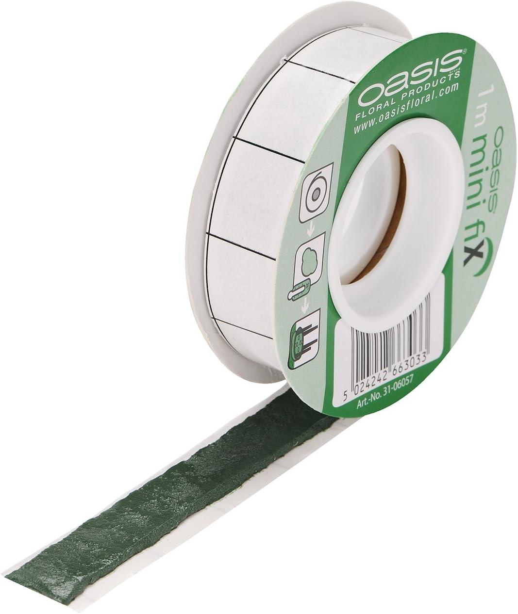 Oasis Mini Fix Adhesive Sticky Tack Tape Waterproof Floral Florist 1 Metre Roll