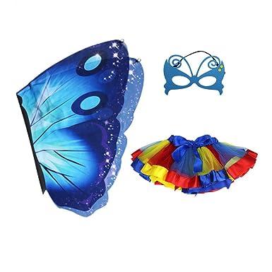 Amazon.com: FENICAL - Conjunto de disfraz para niños, falda ...