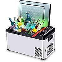 18 Liters(16 Quarts) Mini Freezer for Car and Home, Compressor Fridge -4°F True Freezing, 12V/24V DC and 220V AC Two…