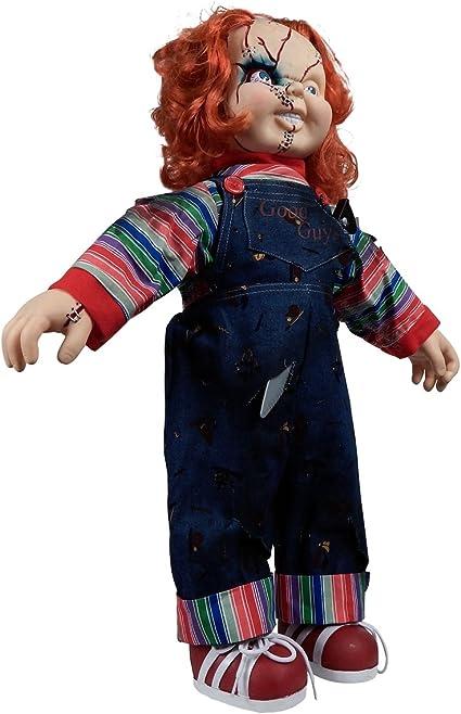 Amazon Com Bride Of Chucky Collector S Memorabilia 24 Child S Play Chucky Doll Toys Games