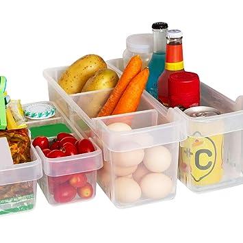 Kurelle 2 Pack Kühlschrank Lagerung Box Gefrierschrank Speisekammer ...