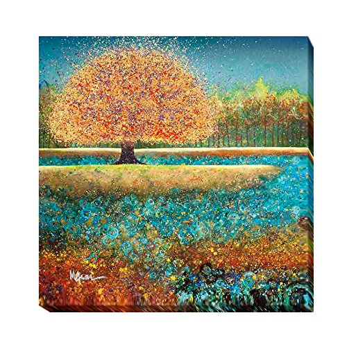 Artistic Home Gallery 3636O512EG Jewel River by Melissa Graves-Brown Oversize Premium Gallery-Wrapped Canvas Giclee Art (Ready to Hang) from Artistic Home Gallery