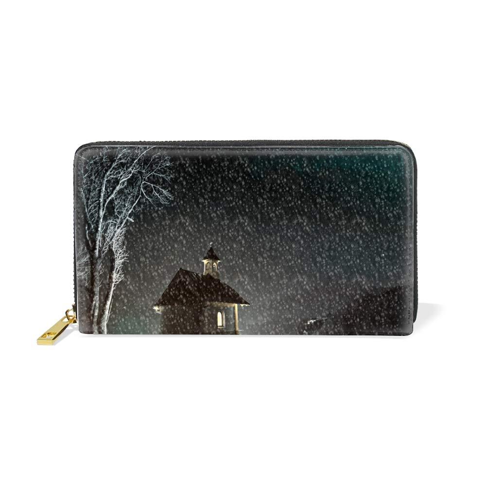 Women Wallet Multi-card Three Fold Long Zipper Clutch Purse,Christmas Gift