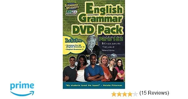 Amazon.com: The Standard Deviants - English Grammar 2-Pack ...