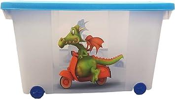 Caja para juguetes (Multi Box) con ruedas