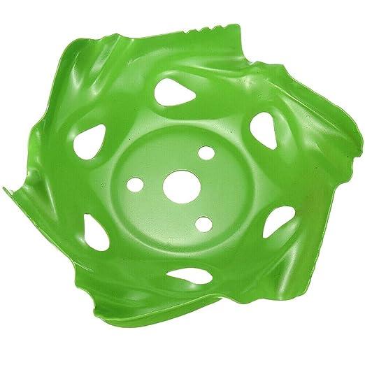 SHSH - Cabezal para cortacésped con Borde Redondeado, Color Verde ...
