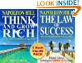 Think And Grow Rich & The Law Of Success (Self-Improvement & Success Secrets 2-Book Value Pack