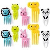 Fork, Leoy88 Animals Food Picks and Forks, Bento Decoration Box Color Random