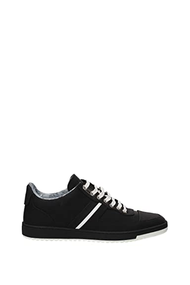 9853788bd03 Dior chaussures baskets sneakers homme en cuir noir EU 42 3SN141WUI ...