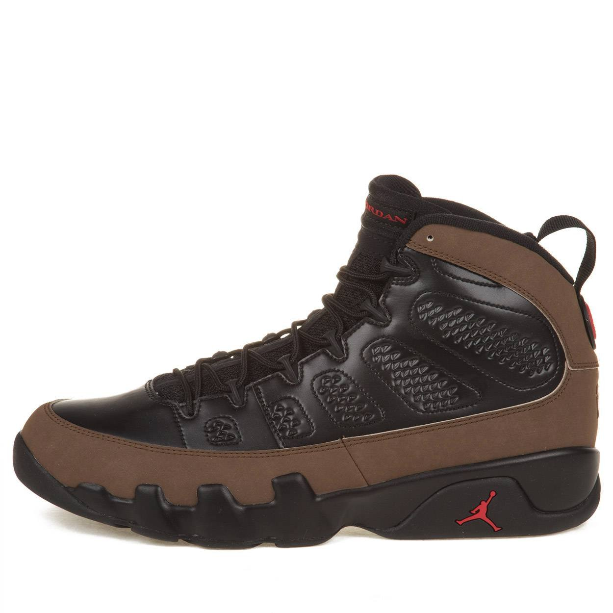 58a44f9e871 Amazon.com | Nike Mens Air Jordan 9 Retro Olive Leather Basketball Shoes |  Basketball