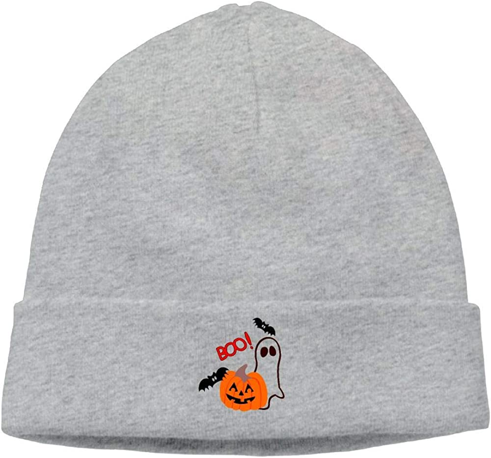 nordic runes Halloween Pumpkin Ghost Beanie Hat Winter Warm Knit Skull Cap for Mens//Womens
