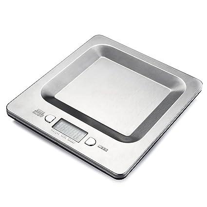 Homasy Balanza Digital de Cocina para Alimentos, Capacidad de 11lb 5 ...