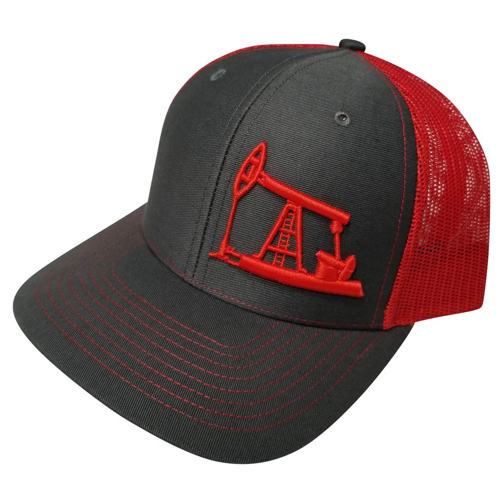 Richardson Oilfield Drilling Rig Snapback Hat Custom Trucker Cap Men Women