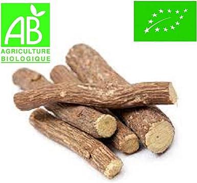 ✅ [ ORGANICO ] Palos de Regaliz Bio 100 GR - Origen España - Ecologico certificado - 10 Palos Minimum: Amazon.es: Alimentación y bebidas