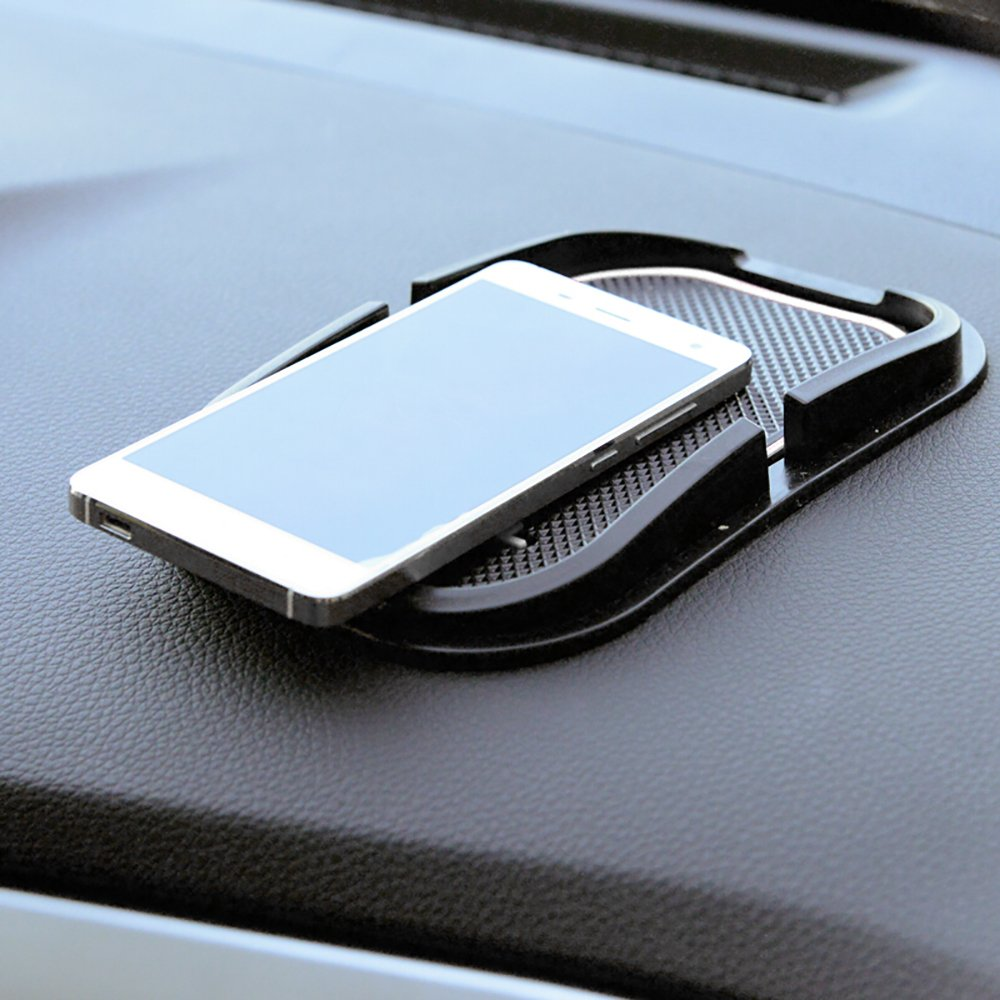 Fluorescence BeHave Fhd892/W de Voiture en Silicone; Coupe Souple et Flexible Support de t/él/éphone Portable Tableau de Bord Tapis antid/érapant Pad Support Voiture Cradle