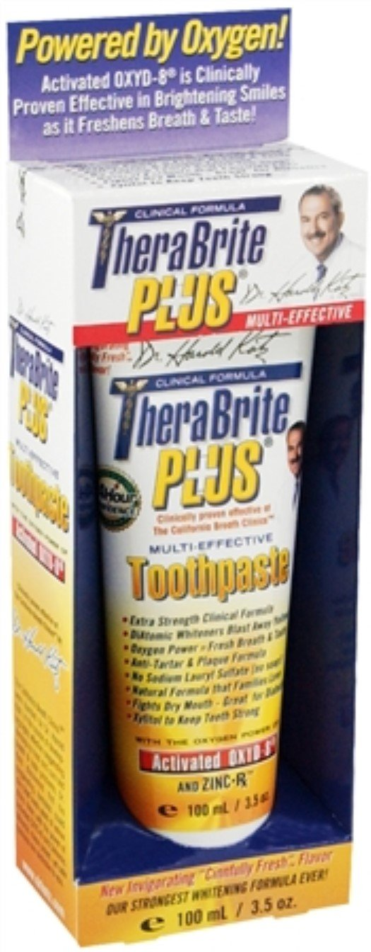 TheraBrite Plus Multi-Effective Toothpaste 3.50 oz (Pack of 10)