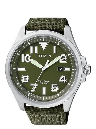 Citizen AW1410-32X - Reloj de Caballero Eco Drive Sin Pilas: Amazon.es: Relojes
