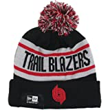 check out 5ee4a 4e8fc Portland Trail Blazers New Era Biggest Fan Redux Knit Beanie