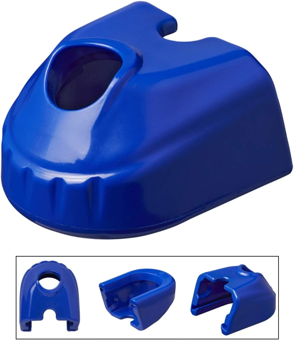 Prallschutz Soft Dock 85x74x110mm Blau Schutz Für Al Ko Kugelkupplungen Anhänger Auto