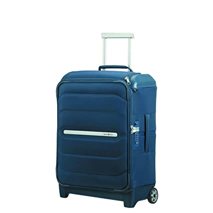 SAMSONITE Flux Soft - Upright 55/20 w/ Top Pocket Equipaje de mano, 55 cm, 39.5 liters, Azul (Navy Blue)