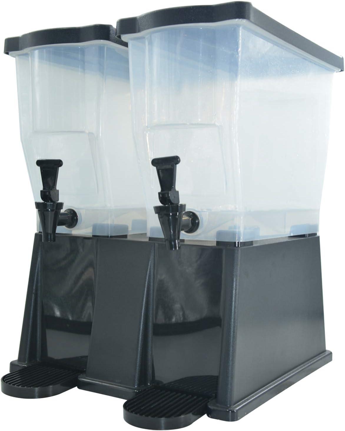CMI Beverage Dispenser 7-Gallon clear (7 gallon),Double Base