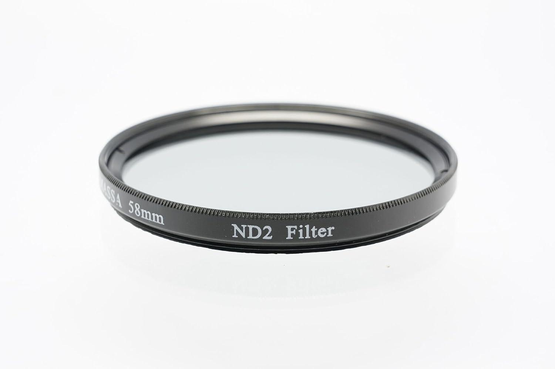 Gadget Career 58mm Neutral Density ND2 Filter for Fujifilm XC 16-50mm F3.5-5.6 OIS II F3.5-5.6 OIS
