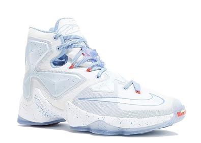 half off 345a1 cbb09 Nike Lebron 13 Xmas 'FIRE & ICE' - 816278-144