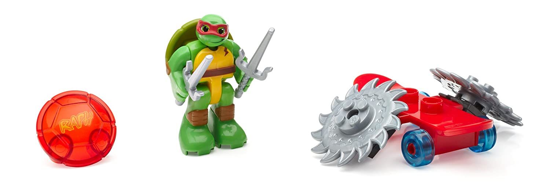 Mega Bloks - Tortugas Ninja Mutantes Adolescentes, Raph con patineta ...