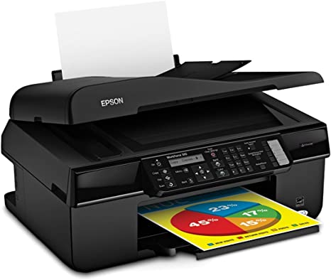 Epson WorkForce 310 Color Inkjet All-in-One Printer (C11CA49201)