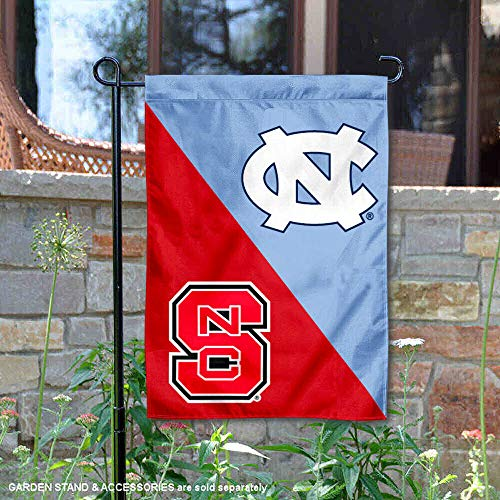 College Flags and Banners Co. North Carolina Tar Heels House Divided Garden Flag
