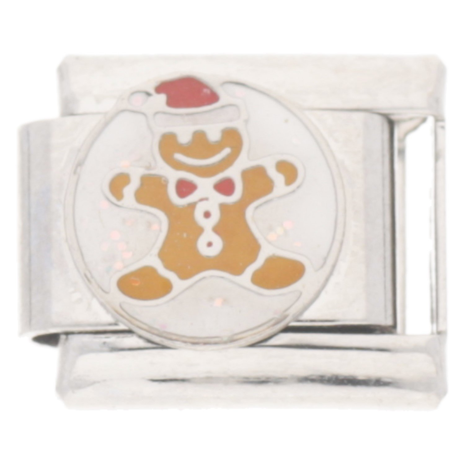 Ginger Bread Man Christmas Italian Charm - fits Nomination Classic ...