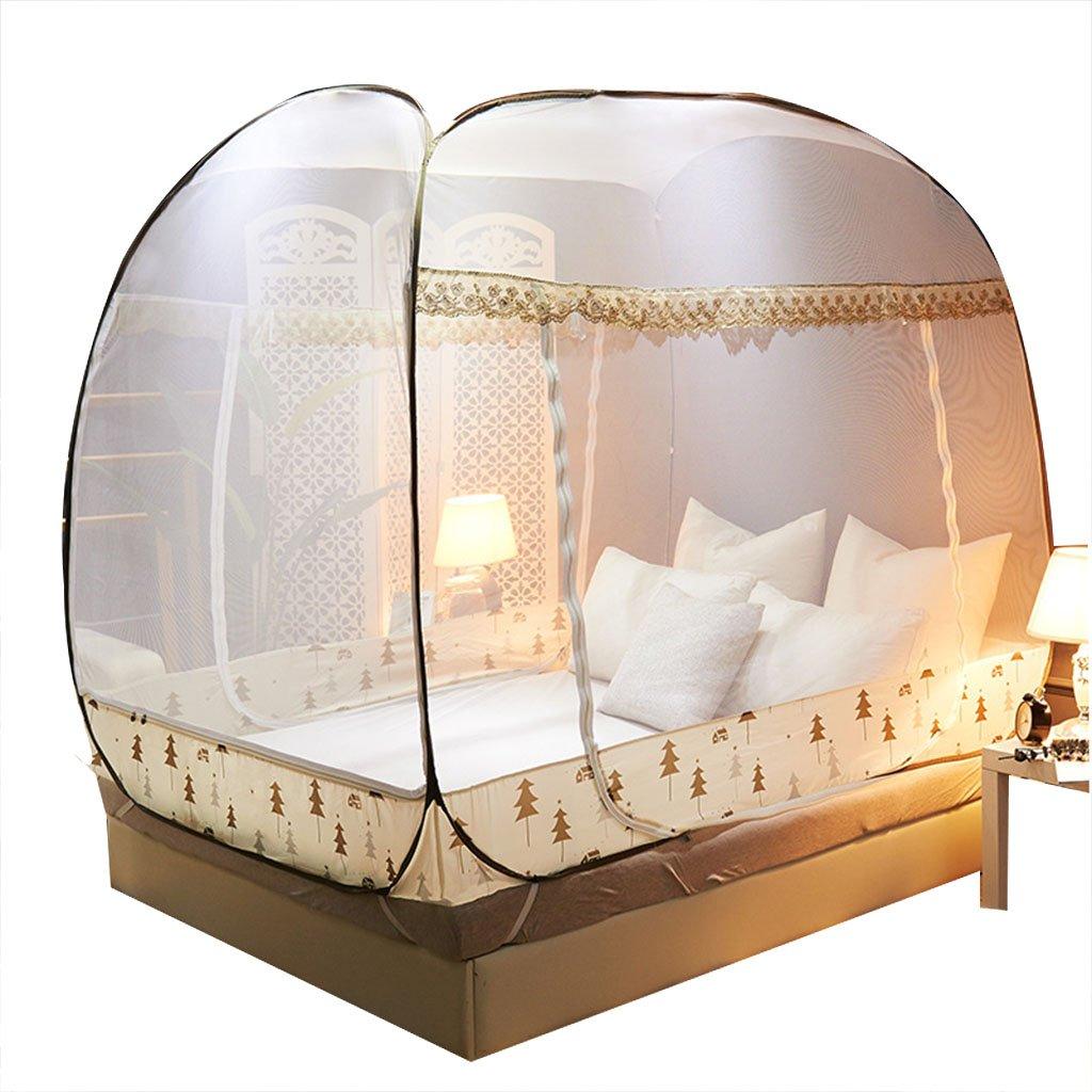 Moskito-Netz-Yurt einfach, Schlafzimmer-Zusätze für Haus 5ft/6ft Bett zu installieren, haben untere Verschlüsselungs-Erhöhung