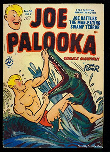 Joe Palooka #58 VG 4.0